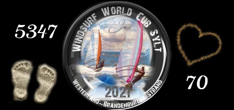 Herzschlag Schritte Windsurf World Cub