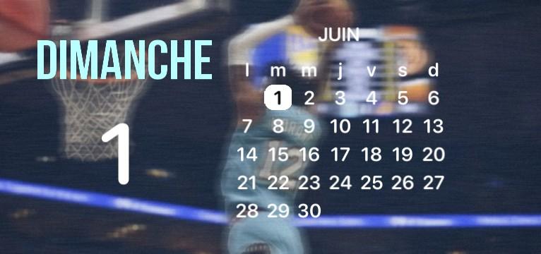 Ja morant Calendar