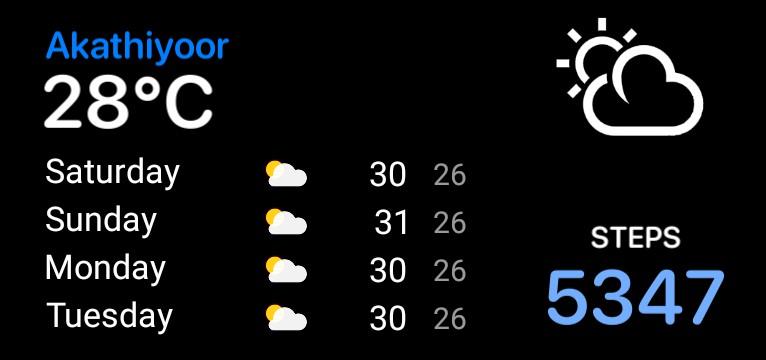 weather week