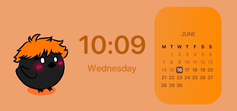 Baby Crow Calendar