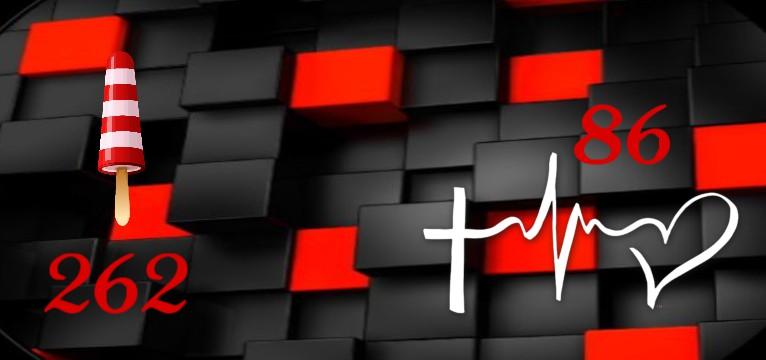 Herzschlag Kalorienverbrauch Red Black