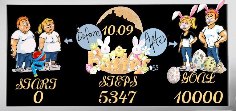 Step Easter Natur