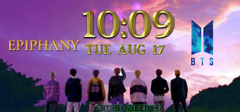 BTS clock3
