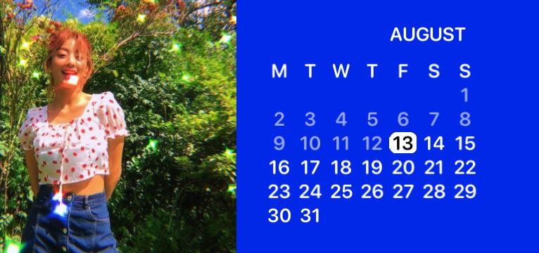 jihyo calendar
