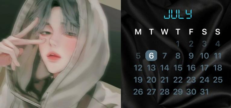 Cute guys Calendar