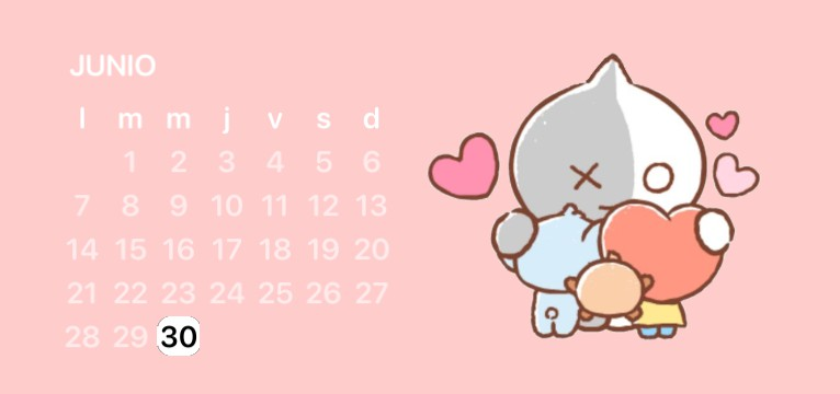Calendario bt21