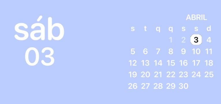 Purple calendar of Homescreen Sailor Moon