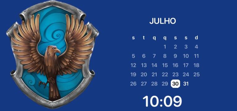 Ravenclaw calendar