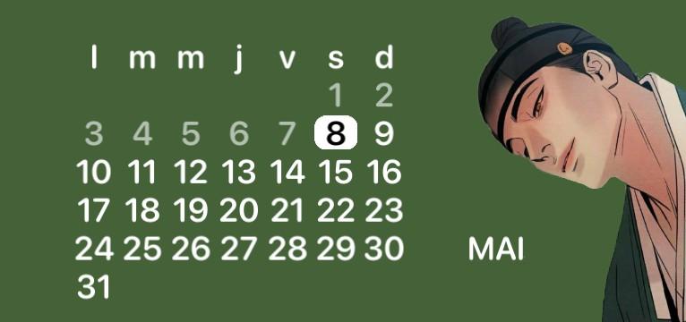 calendar yaoi yahwacheop