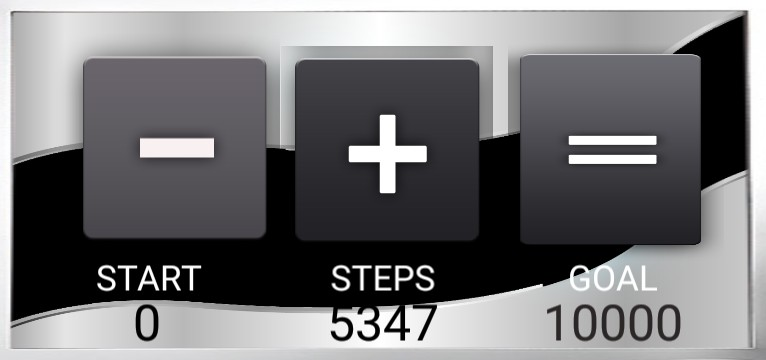 Step counter Serie Welle 1