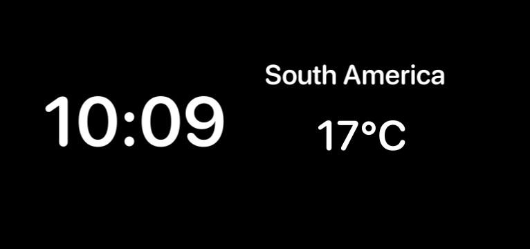 Reloj y temperatura  Copy