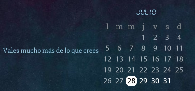 calendario tumblr