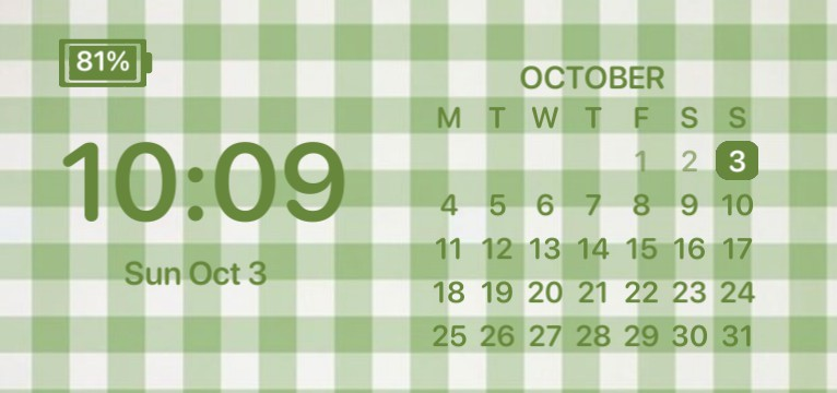 green date&time