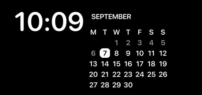time reminder and calendar
