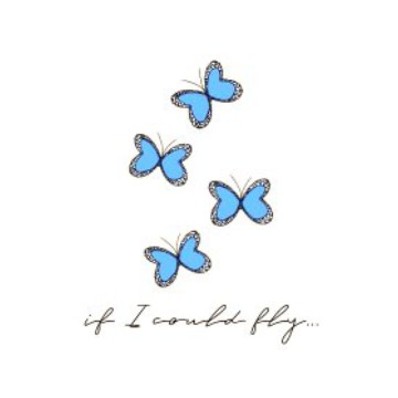 If I Could Fly white