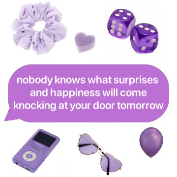 purple text update