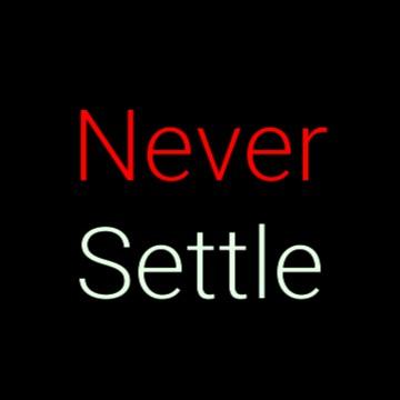 OnePlus Never Settle