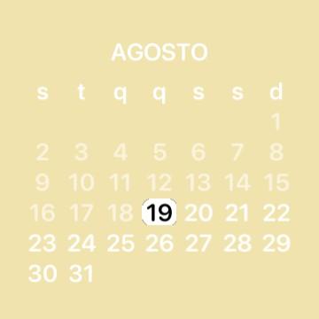 pastel calendar