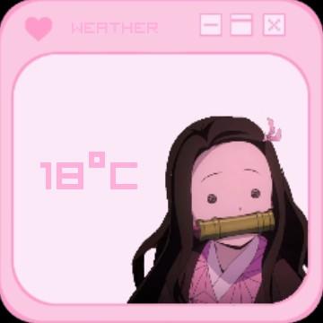 Pink Weather Nezuko