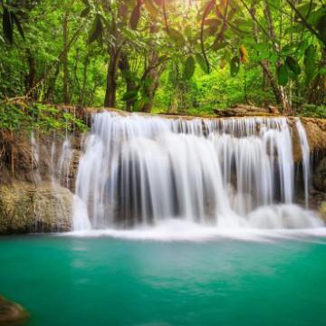 Nature Waterfall Widget