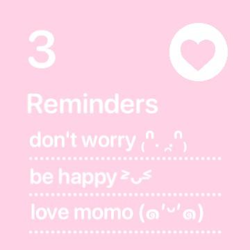reminder/notes
