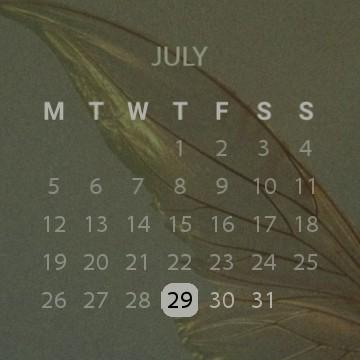 wing calendar