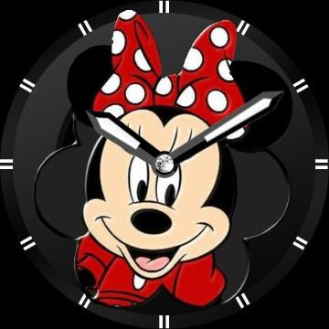 clock Minnie