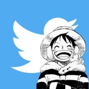 Luffy one piece tweeter