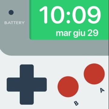 Gameboy widget