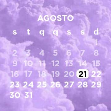purple calendar - small