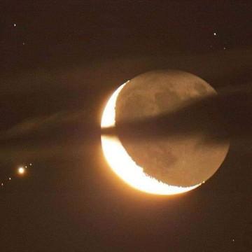 Brown Aesthetic Moon