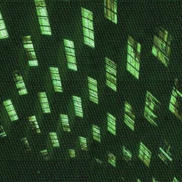 dark green aesthetic