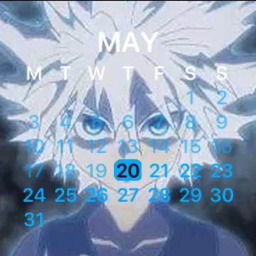 Calendar KILLUA