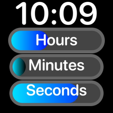 Time sliders PerCrypt