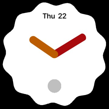 Android 12 clock