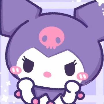 cute purple kumori