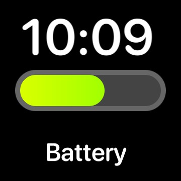 battery with time