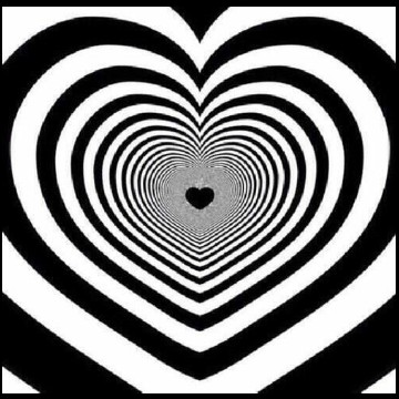 heart shape kisses