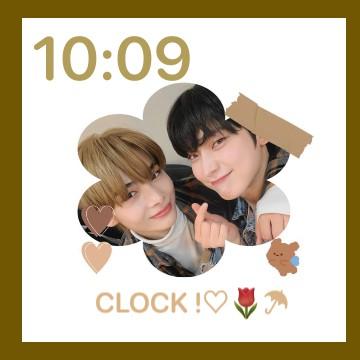 enhypen clock time