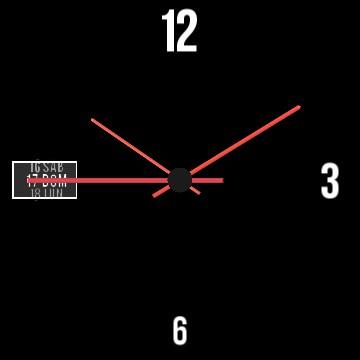 Simple designed clock