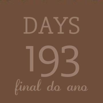 Countdown brown aesthetic