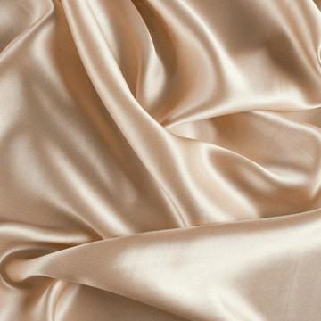 Beige silk