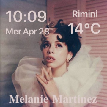 Melanie Martinez widget