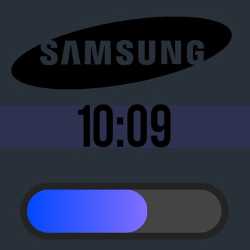 Samsung Battery and Time