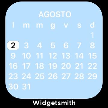 Calendar iphone with widgetsmith