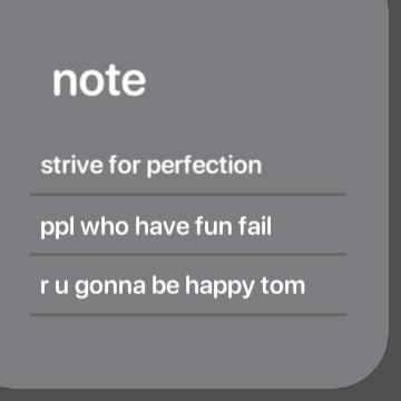 negative notes I enjoy reminding mahself