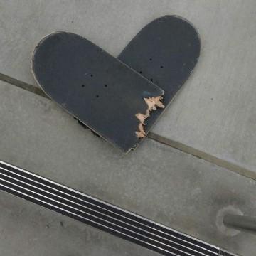 skateboard heart