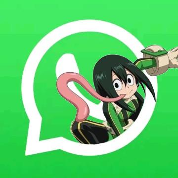 Tsuyu asui My hero academia WhatsApp