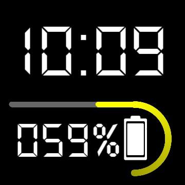 Mini clock & Battery