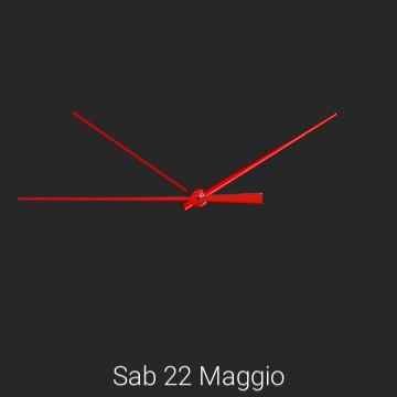 Minimalistic clock